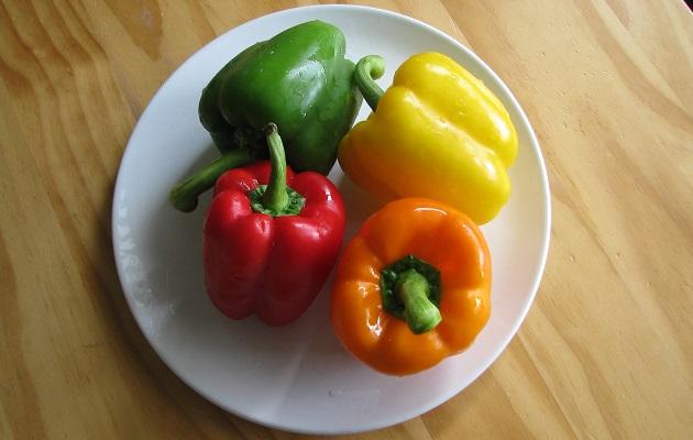 Paprika in alle kleuren